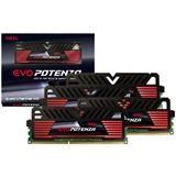 16GB GeIL EVO Potenza Black Series DDR3-2400 DIMM CL11 Quad Kit