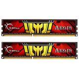 8GB G.Skill Aegis DDR3-1333 DIMM CL9 Dual Kit