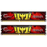16GB G.Skill Aegis DDR3L-1333 DIMM CL9 Dual Kit