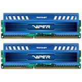 16GB Patriot Viper 3 Series - Blue Sapphire DDR3-2400 DIMM CL10 Dual