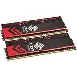 16GB Avexir Blitz Series Red LED Elitegroup-L337 DDR3-2400 DIMM CL10