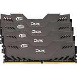 32GB TeamGroup Dark Series grau DDR4-3000 DIMM CL16 Quad Kit