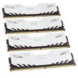 16GB TeamGroup Dark Series weiß DDR4-3000 DIMM CL16 Quad Kit