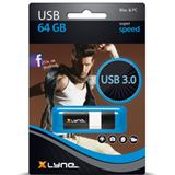 64 GB xlyne Wave schwarz USB 3.0