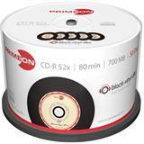 Primeon CD-R 700 MB Vinyl-Look 50er Spindel (2761108)