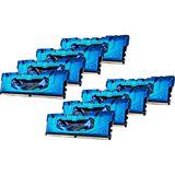 32GB G.Skill RipJaws 4 blau DDR4-3000 DIMM CL15 Octa Kit
